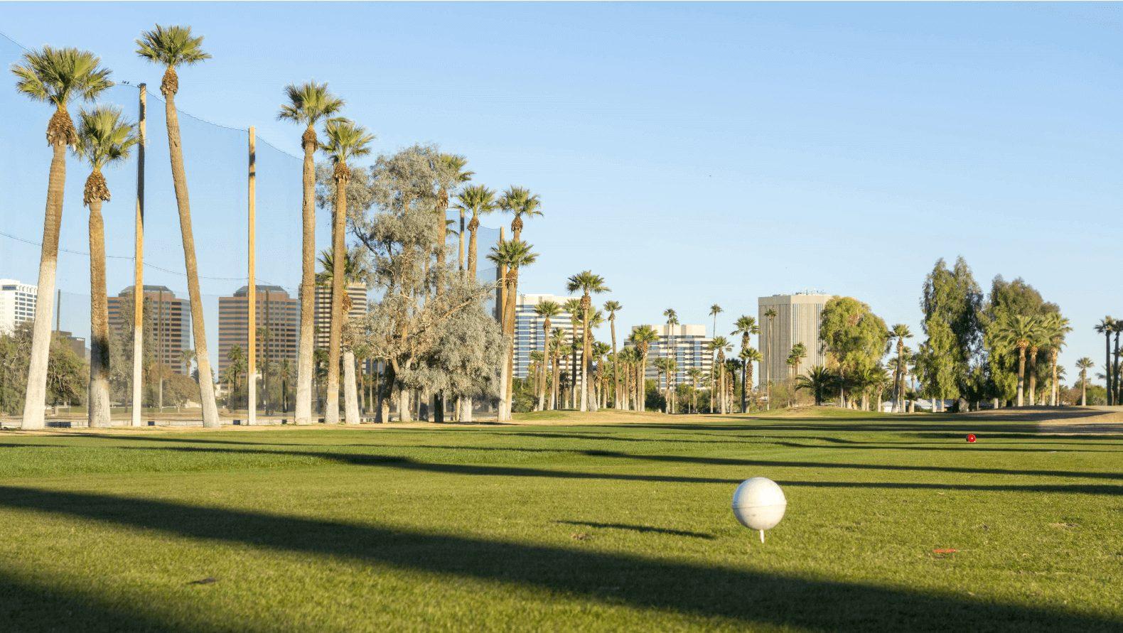 Golf Course Field, Encarto Park Phoenix Arizona